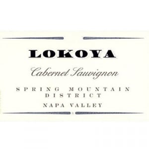 Lokoya Spring Mountain Cabernet Sauvignon 2015 (3x75cl)