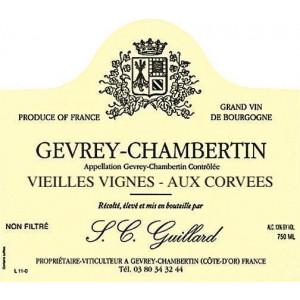 Guillard Gevrey-Chambertin Aux Corvees VV 2016 (6x75cl)