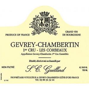 Guillard Gevrey-Chambertin 1er Cru Les Corbeaux 2015 (6x75cl)