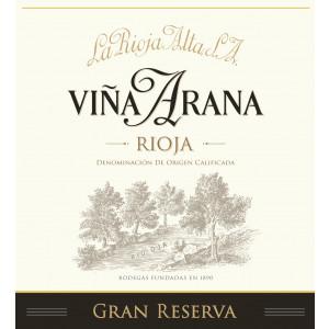 La Rioja Alta Vina Arana Gran Reserva 2012 (6x75cl)