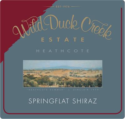 Wild Duck Creek Springflat Shiraz 2004 (12x75cl)