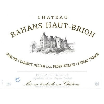 Bahans Haut-Brion 2000 (6x150cl)