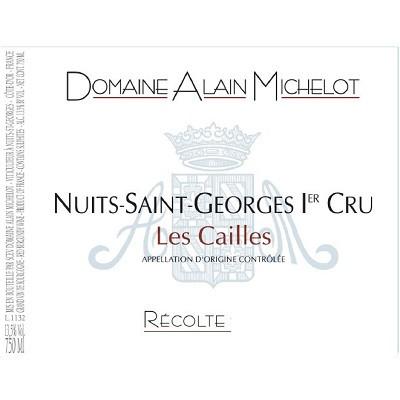 Alain Michelot Nuits Saint Georges Cailles 2013 (12x75cl)