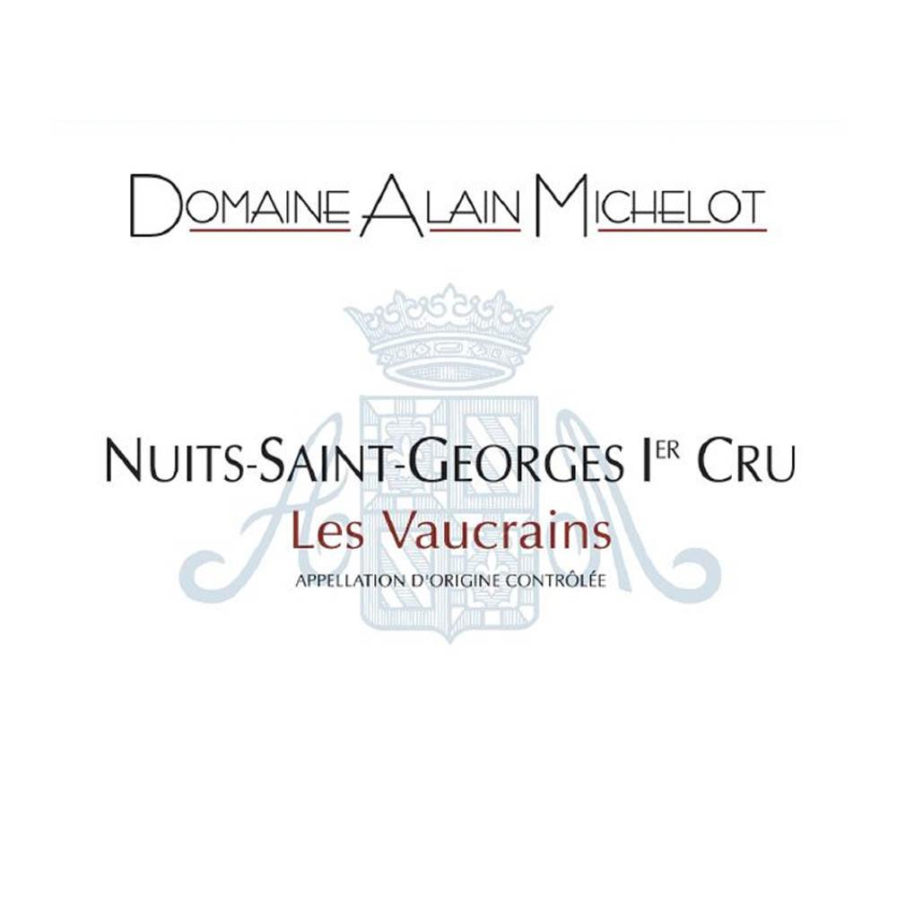 Alain Michelot Nuits Saint Georges Vaucrains 2015 (12x75cl)