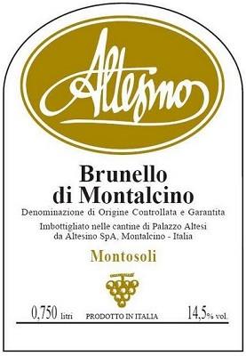 Altesino Brunello di Montalcino Montosoli 2011 (6x75cl)