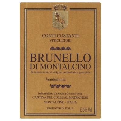 Conti Costanti Brunello di Montalcino 2015 (6x75cl)