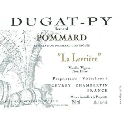 Bernard Dugat-Py Pommard La Levriere VV 2018 (6x75cl)