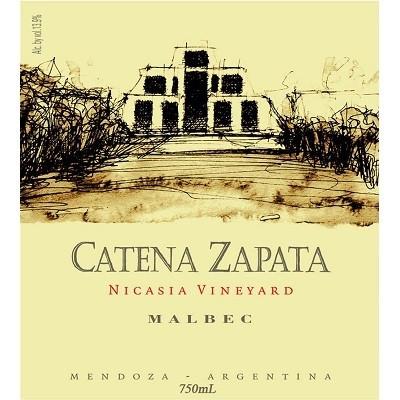 Catena Zapata Nicasia Malbec 2013 (6x75cl)
