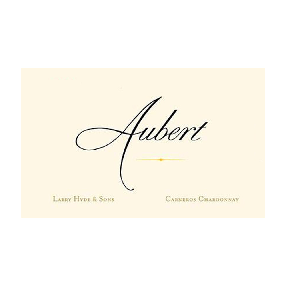 Aubert Chardonnay Larry Hyde & Sons 2018 (12x75cl)
