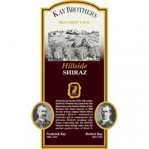 Kay Brothers Hillside Shiraz 2004 (6x75cl)