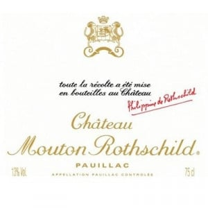 Mouton Rothschild 2012 (6x75cl)