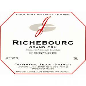 Jean Grivot Richebourg Grand Cru 2013 (1x75cl)