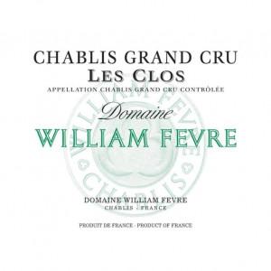 William Fevre Chablis Grand Cru Les Clos 2018 (6x75cl)