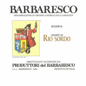 Produttori del Barbaresco Barbaresco Rio Sordo Riserva 2013 (6x75cl)