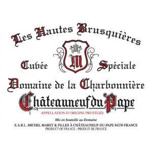 Domaine de la Charbonniere Chateauneuf-du-Pape Les Hautes Brusquieres 2017 (6x75cl)