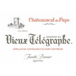 Vieux Telegraphe Chateauneuf-du-Pape 2017 (6x75cl)