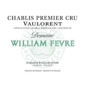 William Fevre Chablis 1er Cru Vaulorent 2017 (6x75cl)