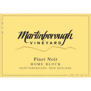 Martinborough Home Block Pinot Noir 2013 (6x75cl)