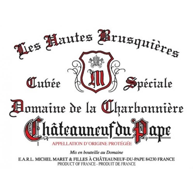 Domaine de la Charbonniere Chateauneuf-du-Pape Les Hautes Brusquieres 2016 (6x75cl)