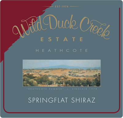 Wild Duck Creek Springflat Shiraz 2004 (6x150cl)