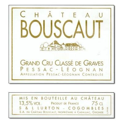 Bouscaut 2019 (6x75cl)