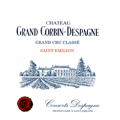 Grand Corbin Despagne 2019 (6x75cl)