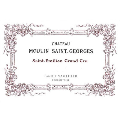 Moulin Saint-Georges 2016 (6x75cl)