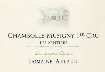 Arlaud Chambolle Musigny 1er Cru Sentiers 2019 (6x75cl)