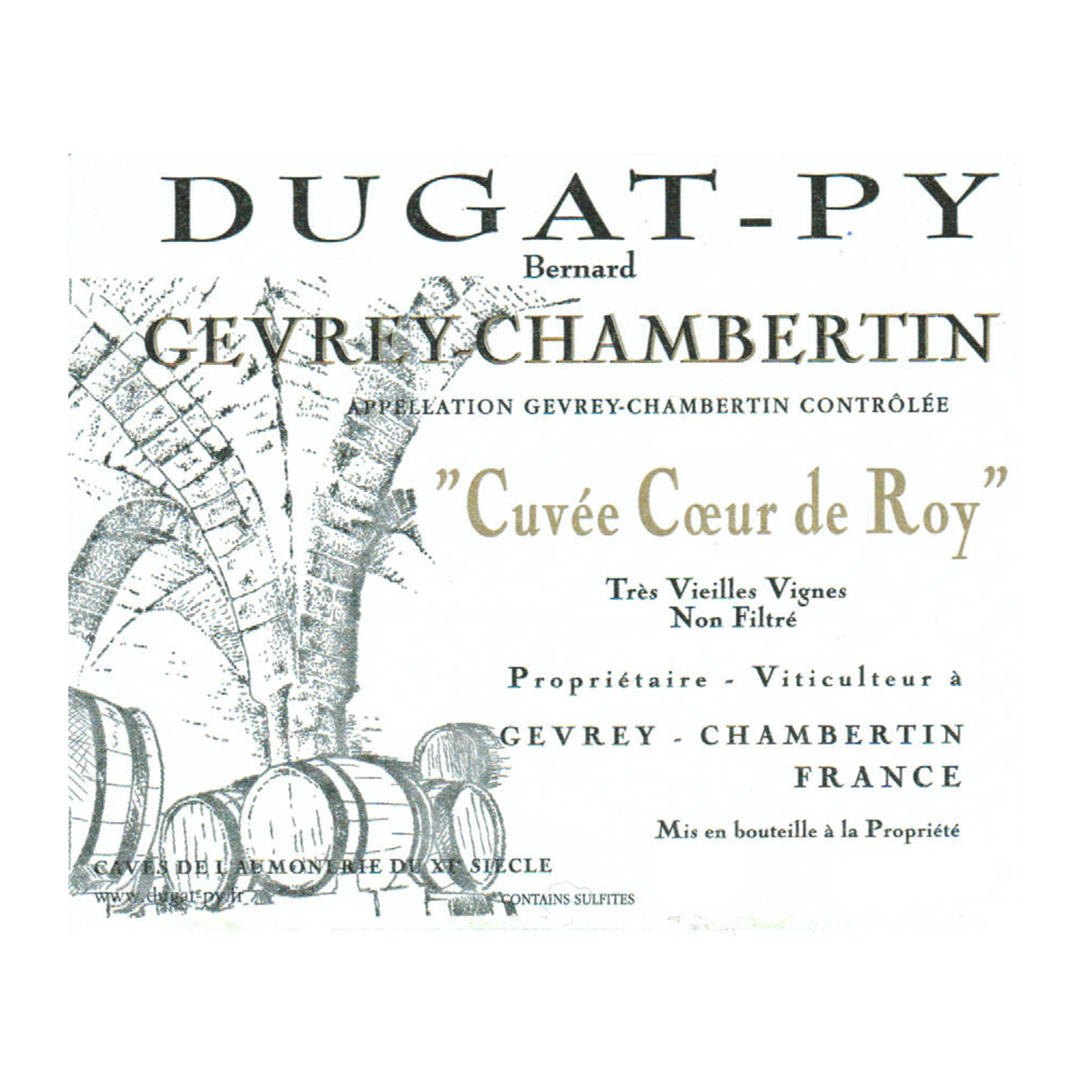 Bernard Dugat-Py Gevrey-Chambertin Cuvee Coeur de Roy 2019 (6x75cl)