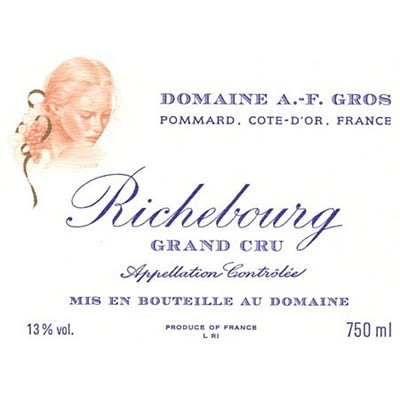 Anne-Francoise Gros Richebourg Grand Cru 2015 (6x75cl)