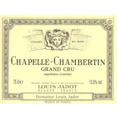 Louis Jadot Chapelle-Chambertin Grand Cru 2016 (6x75cl)