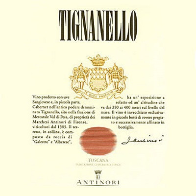 Tignanello 2013 (6x75cl)