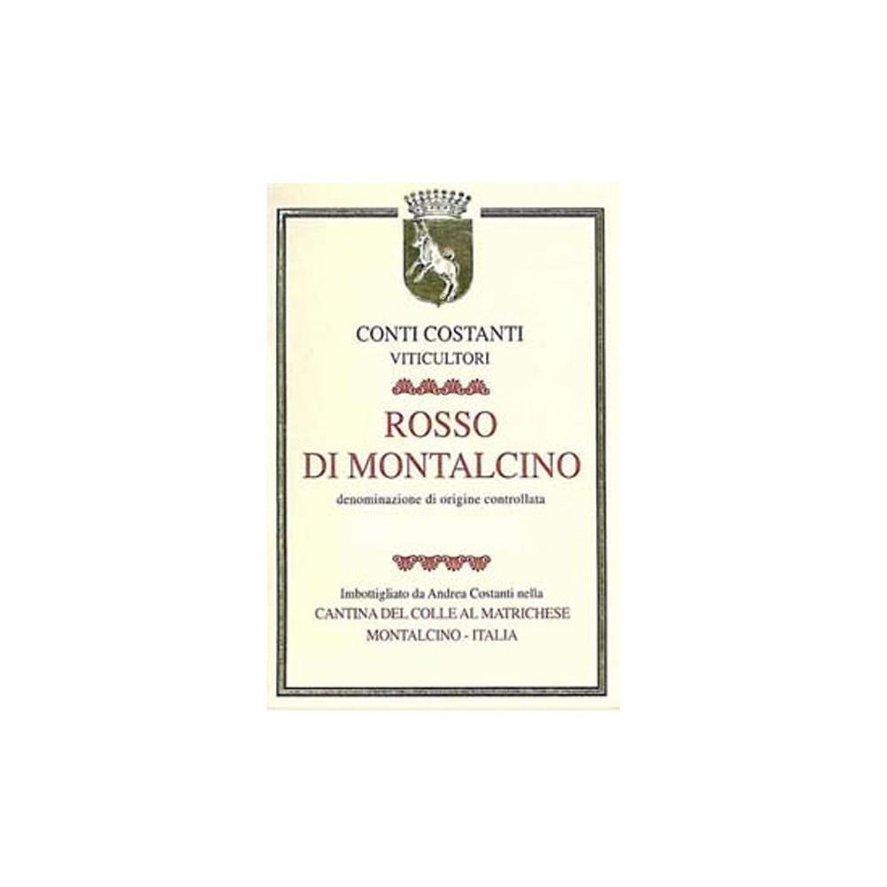 Conti Costanti Rosso di Montalcino 2017 (6x75cl)