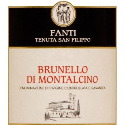 Fanti San Filippo Brunello di Montalcino 2015 (6x75cl)