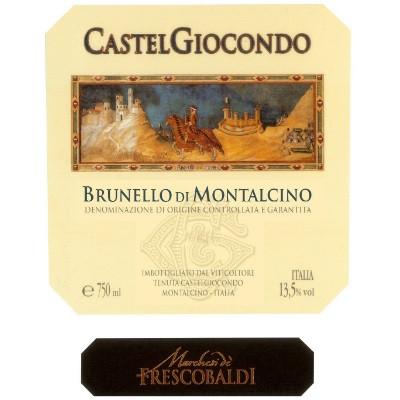 Frescobaldi Brunello di Montalcino Castelgiocondo 2015 (6x75cl)