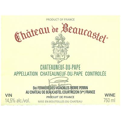 Beaucastel Chateauneuf-du-Pape 2005 (6x75cl)