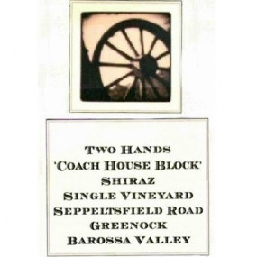 Two Hands Coach House Block Shiraz 2008 (1x150cl)