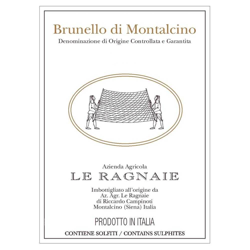 Le Ragnaie Brunello di Montalcino 2015 (6x75cl)