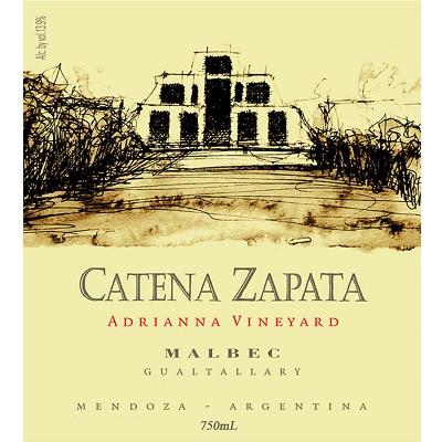 Catena Zapata Adrianna Malbec 2010 (6x75cl)