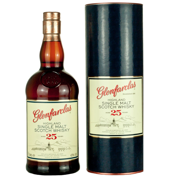 Glenfarclas Highland Single Malt 25 Years Old NV (6x70cl)