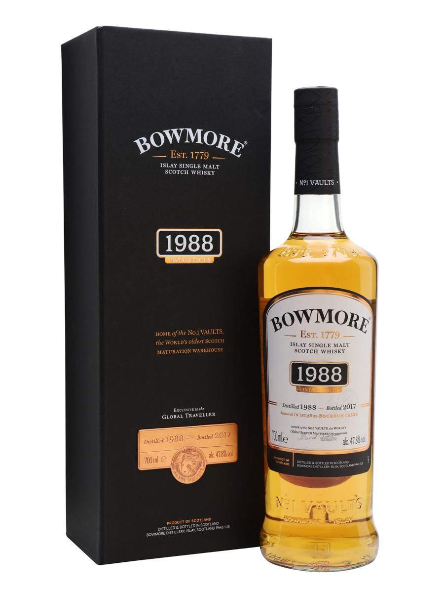 Bowmore Islay Single Malt Vintage Edition 28YO Bottled 2017 1988 (1x70cl)