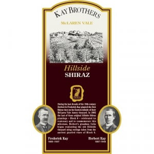 Kay Brothers Hillside Shiraz 2004 (6x75cl)