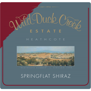 Wild Duck Creek Springflat Shiraz 2004 (1x150cl)