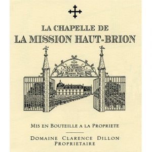 La Chapelle de La Mission Haut-Brion 2016 (6x75cl)