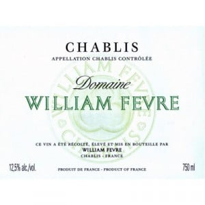 William Fevre Chablis 2018 (6x75cl)