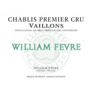 William Fevre Chablis 1er Cru Vaillons 2015 (6x75cl)