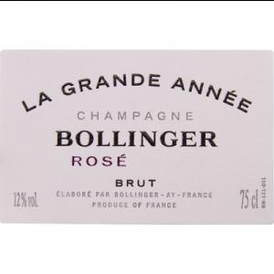 Bollinger La Grande Annee Rose 2012 (6x75cl)