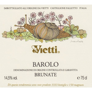 Vietti Barolo Brunate 2013 (6x75cl)