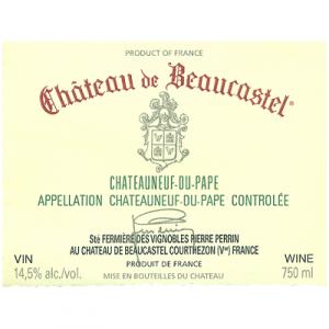 Beaucastel Chateauneuf-du-Pape 2017 (6x75cl)