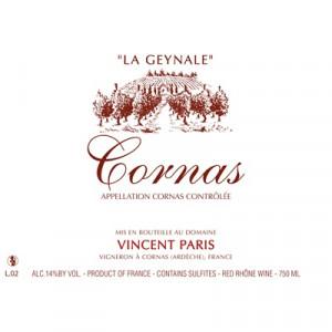 Vincent Paris Cornas La Geynale 2018 (6x75cl)